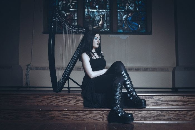 """Lindsay Schoolcraft (Formerly Cradle of Filth) re-issues debut EP """"Rushing Through the Sky"""