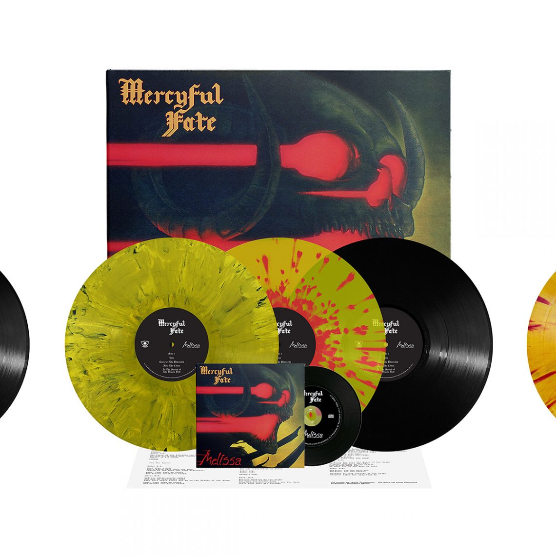 Mercyful Fate: 'Don't Break the Oath', 'Melissa', 'Mercyful Fate' re-issues now available for pre-order via Metal Blade Records