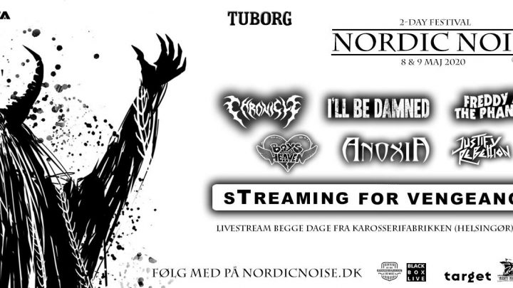 The world's first 2-day heavy rock live-stream festival? Nordic Noise 2020: Streaming for Vengeance