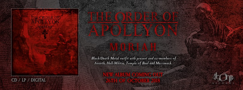 THE ORDER OF APOLLYON premiere live music video