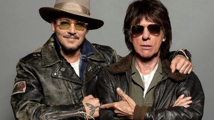 "JEFF BECK & JOHNNY DEPP PREMIERE NEW VIDEO FOR THEIR COVER OF JOHN LENNON'S ""ISOLATION"""