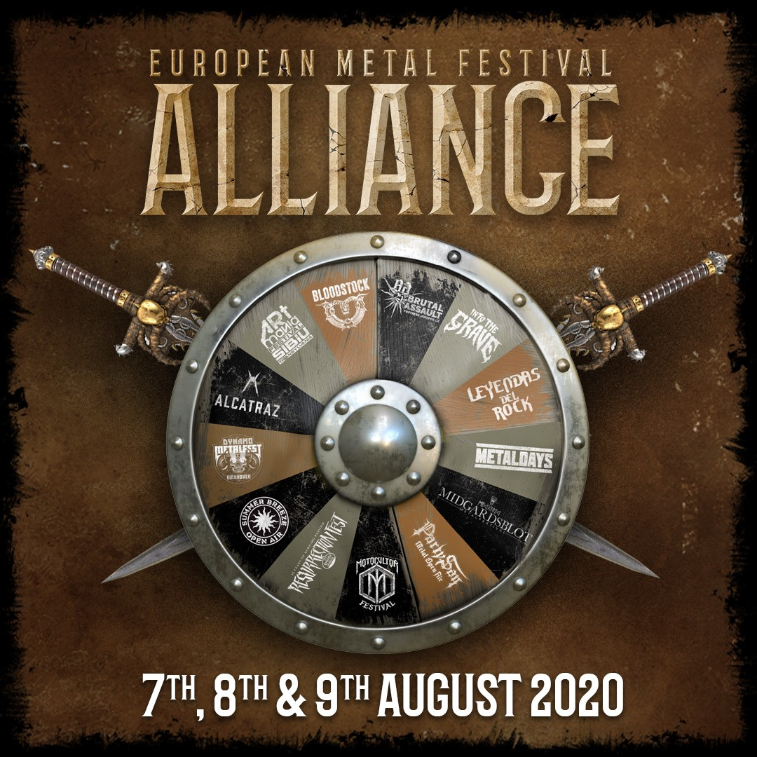 BLOODSTOCK announces the final line-up for European Metal Festival Alliance!