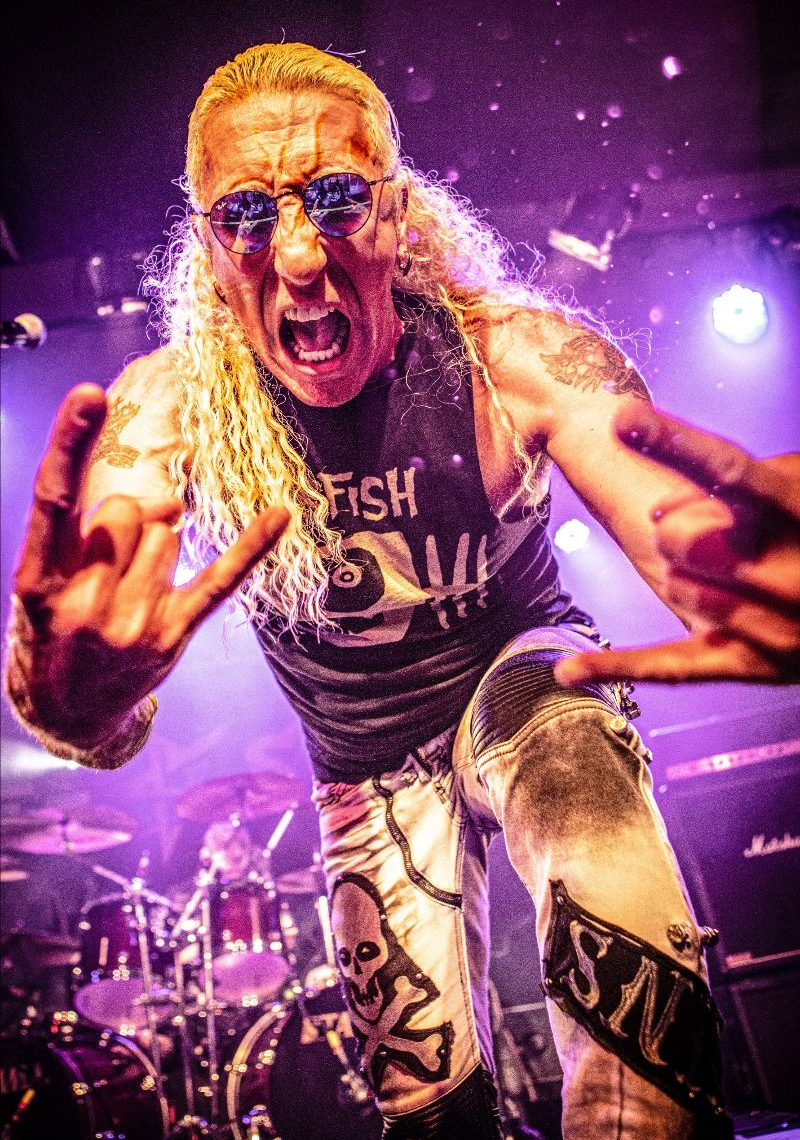 """Heavy Metal Legend DEE SNIDER Reveals Music Video for Live Version of """"I Am The Hurricane"""""""