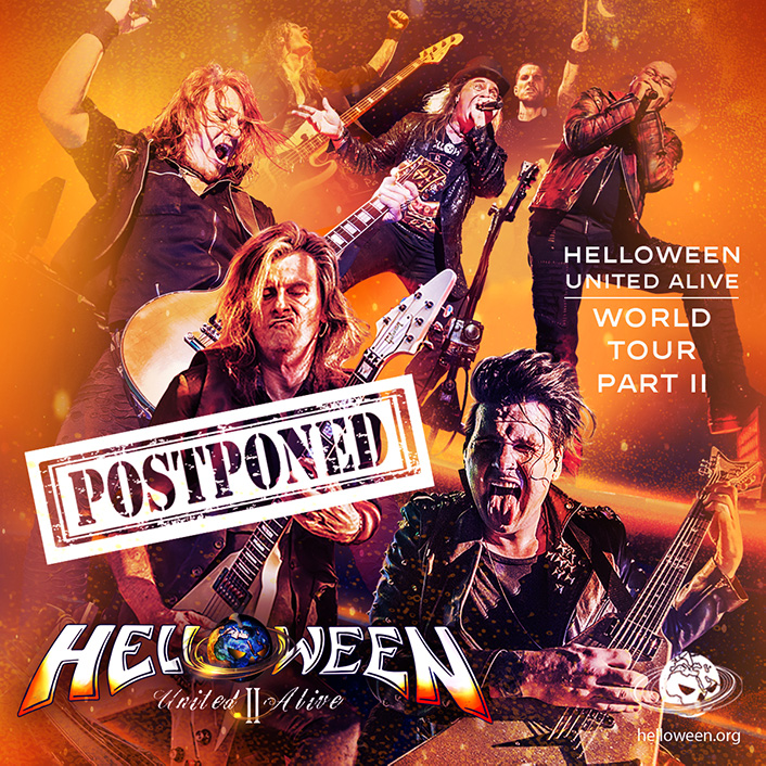 Helloween Pumpkin United Alive Tour PT. II- POSTPONED!