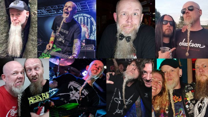 ACID REIGN bassist Pete Dee has started a justgiving campaign