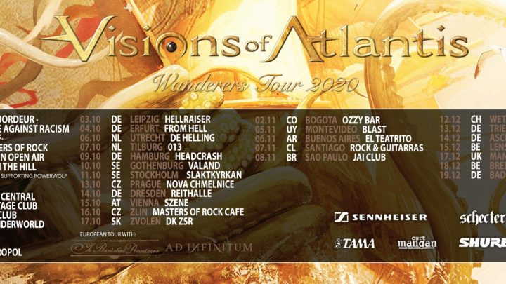 Visions Of Atlantis embark on yet another journey to remember!