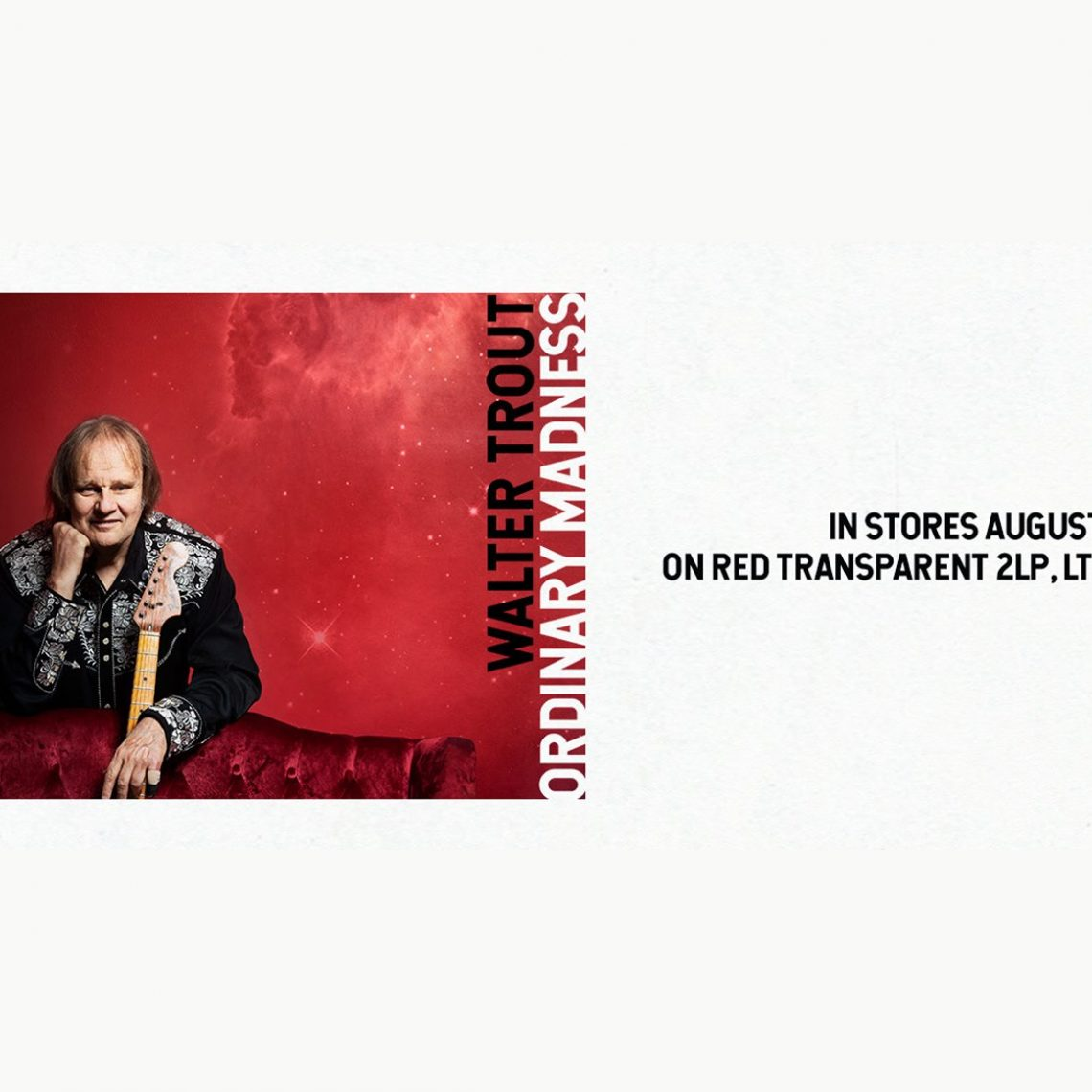 Walter Trout Reveals New Song 'All Out Of Tears'