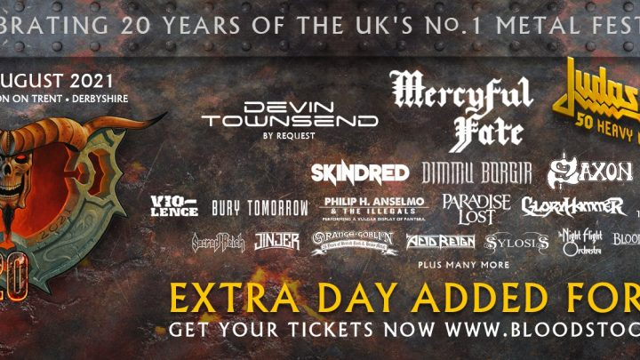 BLOODSTOCK CONFIRMS TEN MORE BANDS FOR 2021