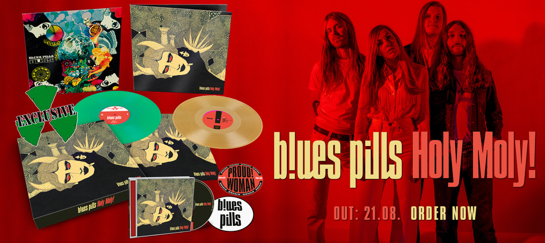 Blues Pills – Holy Moly! Box Set and Album Review