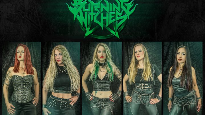 BURNING WITCHES REVEAL NEW GUITARIST + ANNOUNCE NEW FORTHCOMING SINGLE
