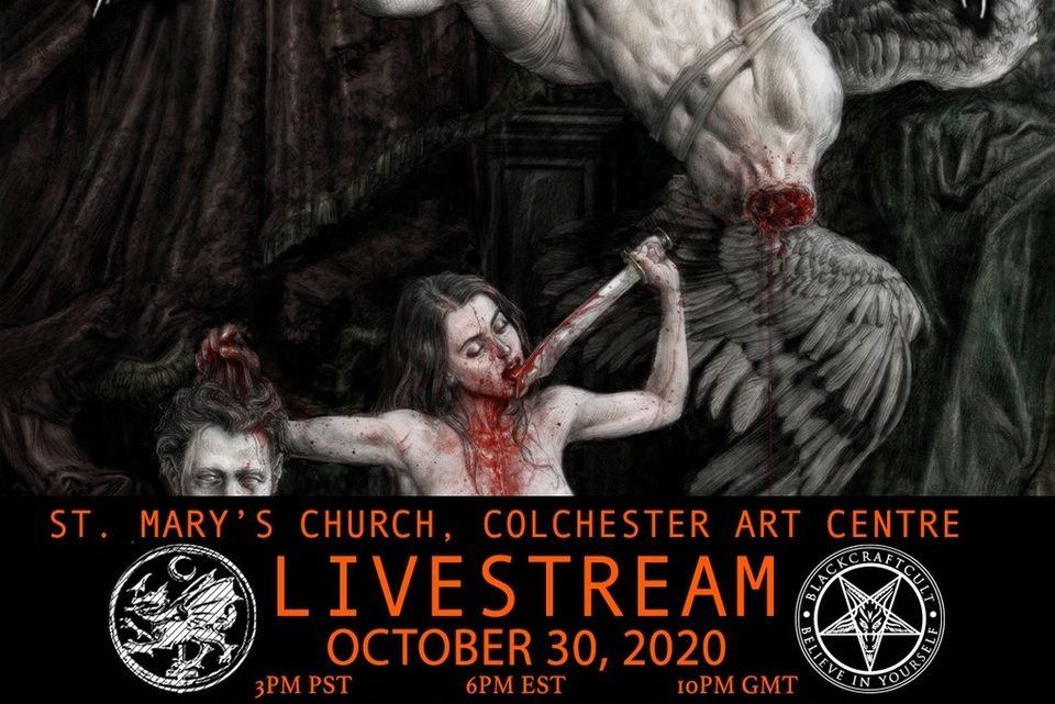 CRADLE OF FILTH – Announce Live Stream concert from St. Mary's Church