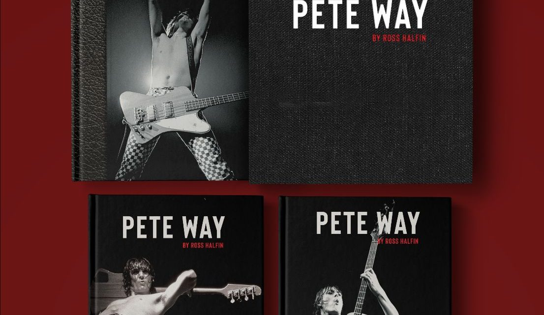 Pete Way by Ross Halfin: A 240-page celebration of UFO's iconic bass player