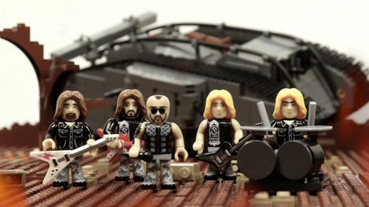 SABATON release new building block video clip 'The Future Of Warfare'