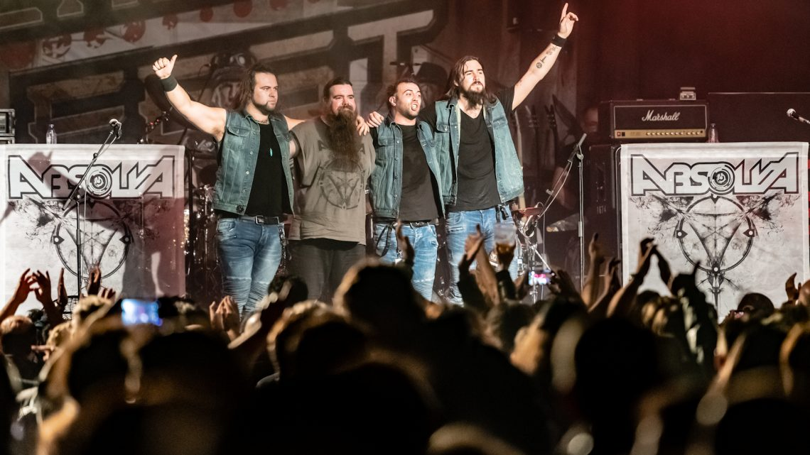 ABSOLVA ANNOUNCE THE RELEASE OF A NEW LIVE ALBUM 'LIVE IN EUROPE'