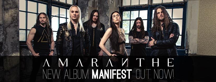 """Amaranthe – """"Manifest"""""""