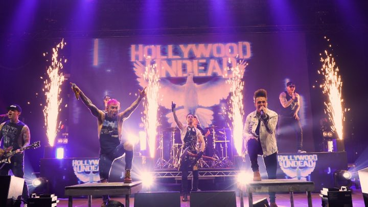 """HOLLYWOOD UNDEAD Release """"Heart Of A Champion"""" ft. Jacoby Shaddix (PAPA ROACH) & Spencer Charnas (ICE NINE KILLS)"""