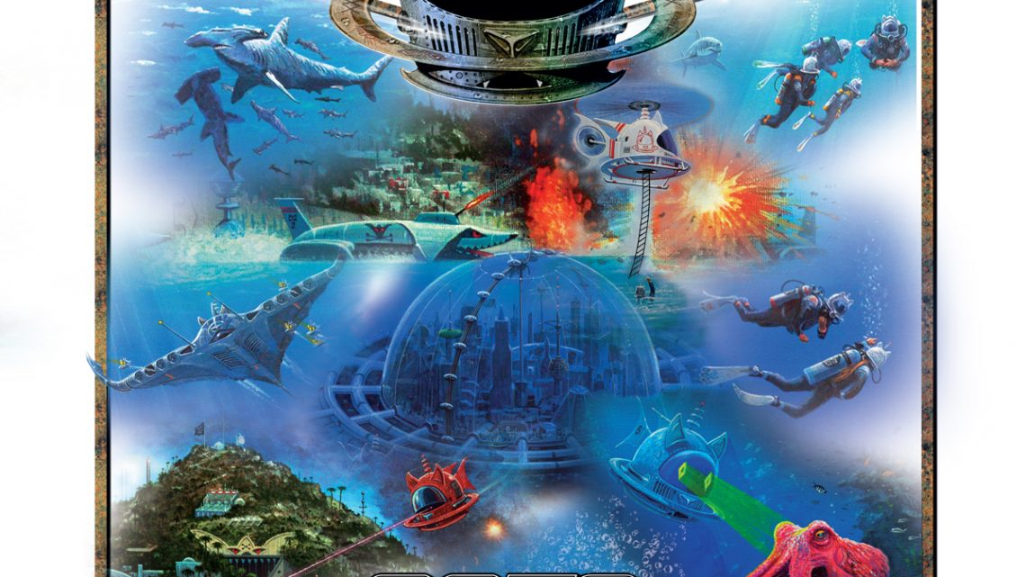 "Cats in Space:  ""Full Stream Ahead Into Atlantis!"""