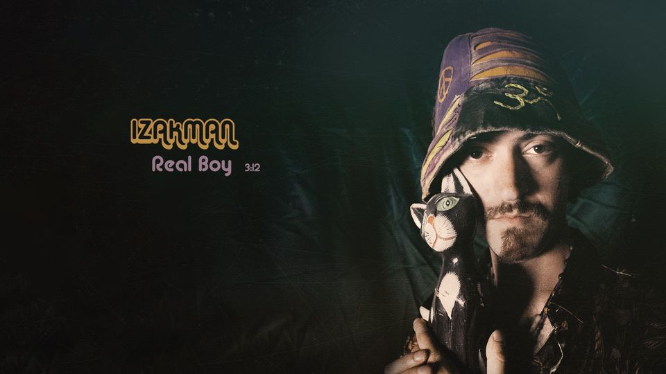 Psychedelic rocker Izakman releases new single 'Real Boy'