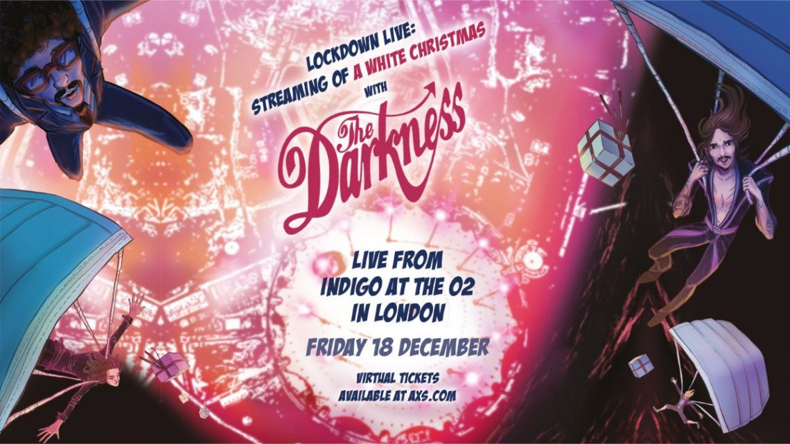 The Darkness announce 'Lockdown Live: Streaming of a White Christmas, with The Darkness'