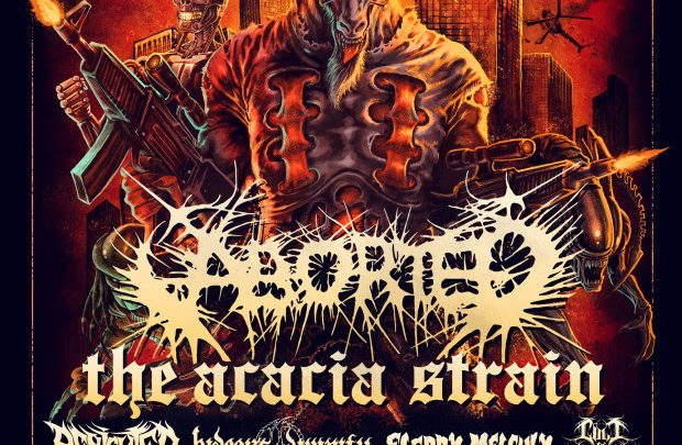 ABORTED & HIDEOUS DIVINITY –Announce Hell Over Europe Tour 2021