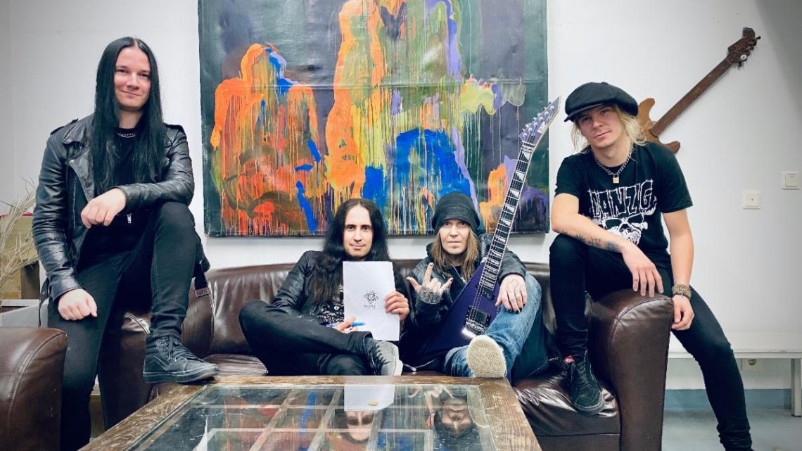 """BODOM AFTER MIDNIGHT to Release """"Paint The Sky With Blood"""" EP on April 23, 2021"""