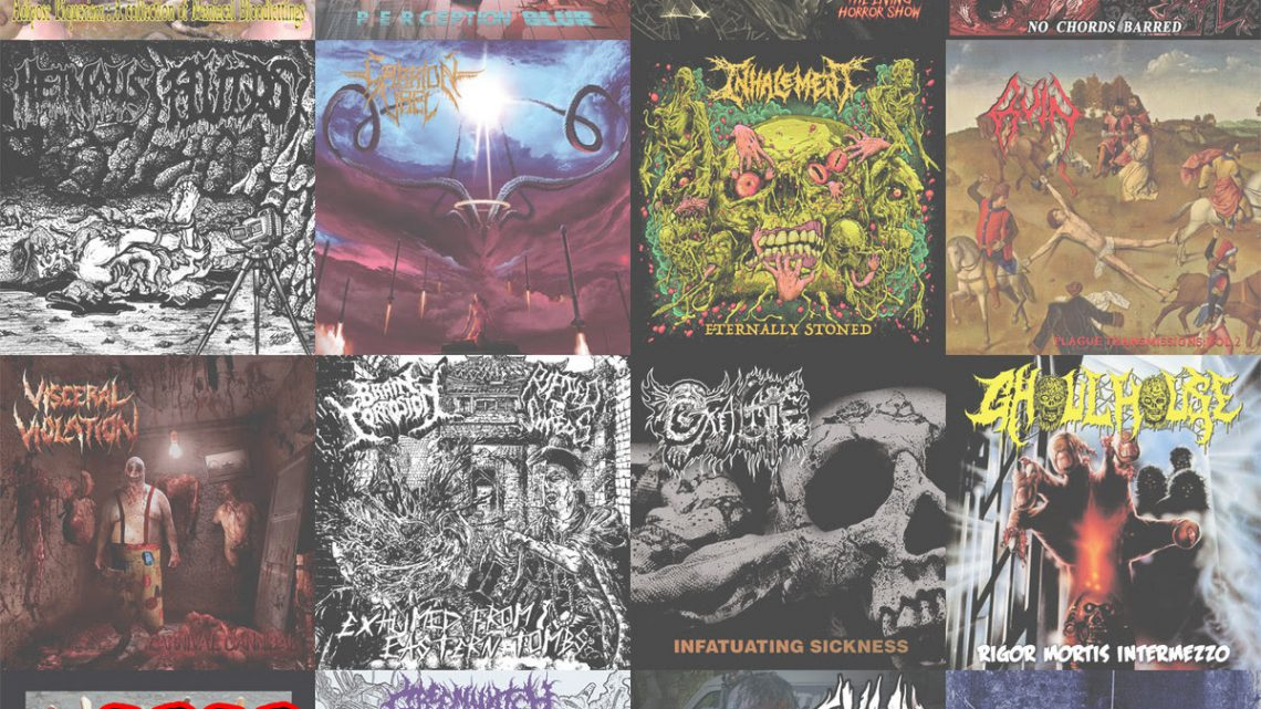 Horror Pain Gore Death Productions posts 2020 Full Year In Review: 30 Track FREE Sampler via Bandcamp and new T-Shirt