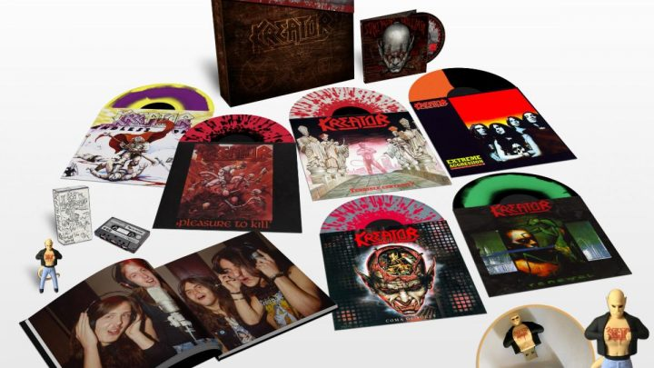 KREATOR announce 'Under The Guillotine' deluxe box-set