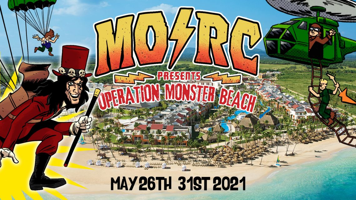 MONSTERS OF ROCK CRUISE ANNOUNCES MUSIC FESTIVAL FOR 2021 OPERATION MONSTER BEACH