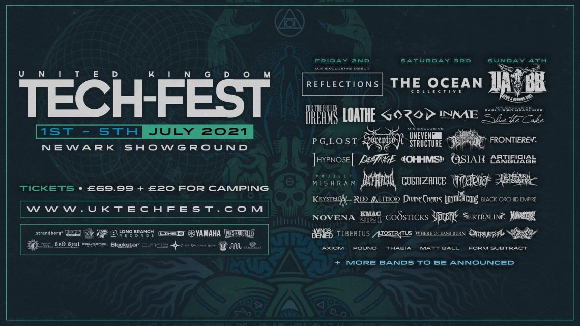 UK TECH-FEST 2021: The Ocean, Reflections, Upon A Burning Body + many more announced