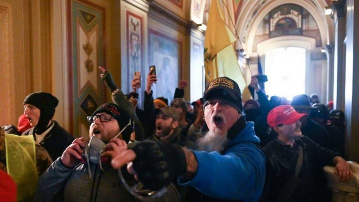 Fans identify Iced Earth's Jon Schaffer as one of the protesters that raided the US Capitol Building