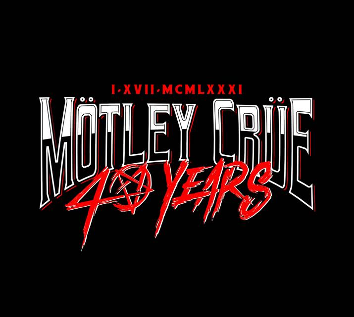 Mötley Crüe Turing 40 – Kick off year long celebrations