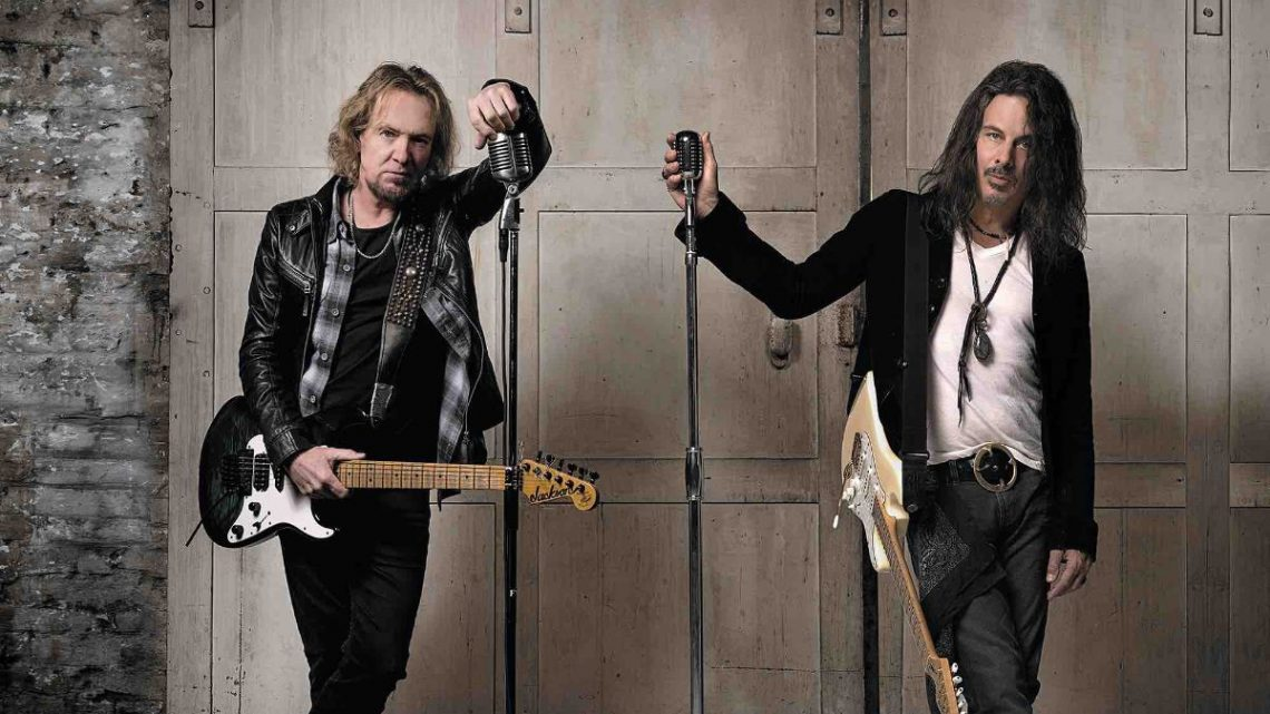 ADRIAN SMITH AND RICHIE KOTZEN DEBUT ALBUM TO BE RELEASED MARCH 26TH AS TRANSATLANTIC ROCK ICONS JOIN FORCES