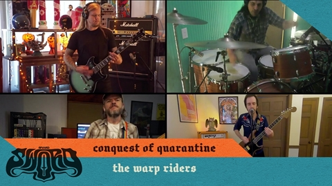 THE SWORD ARE BACK WITH NEW INSTALMENTS OF CONQUEST OF QUARANTINE SESSIONS