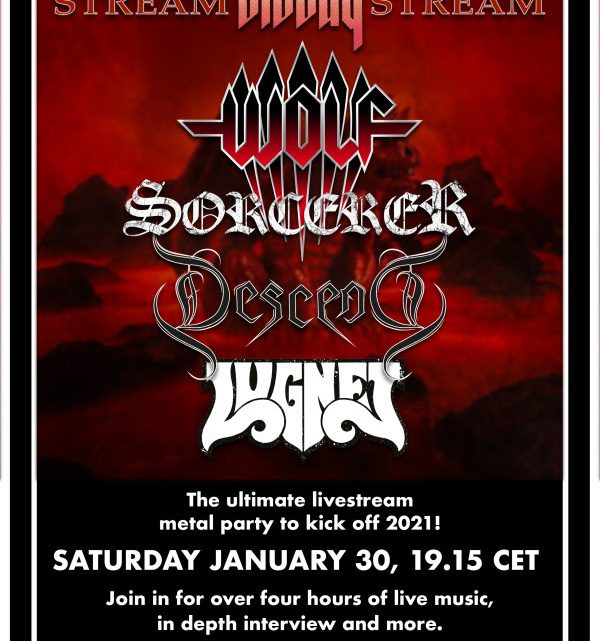 """WOLF – Stockholm's Metal Alliance joins forces for """"Stream Bloody Stream"""" Live Event"""