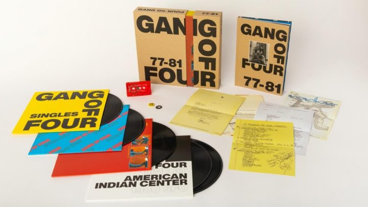 GANG OF FOUR: 77-81 – LIMITED EDITION BOX SET