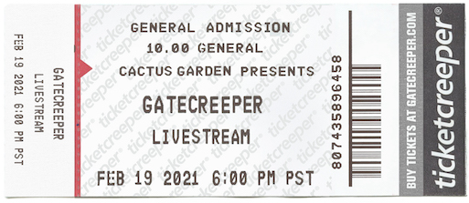 Gatecreeper – Announces First Livestream Concert For Feb 19th