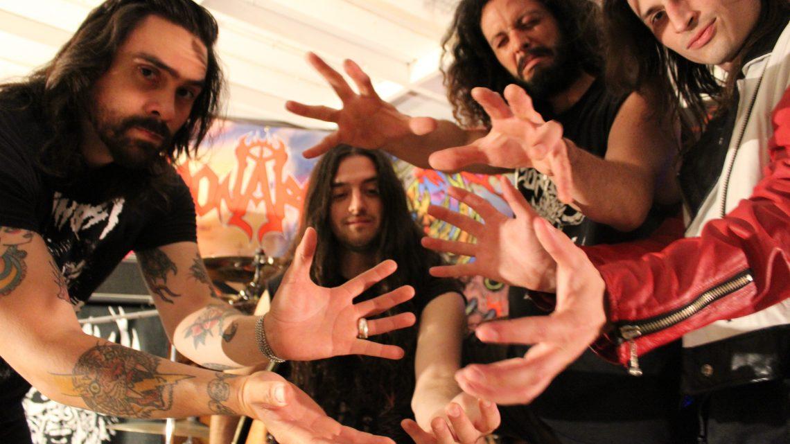 Monarch Guitarist – Casey Trask Talks A Lot Of Bull (dog)