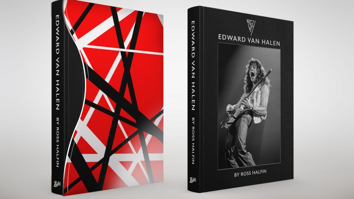 'Edward Van Halen by Ross Halfin': Available for pre-order now from Rufus Publications