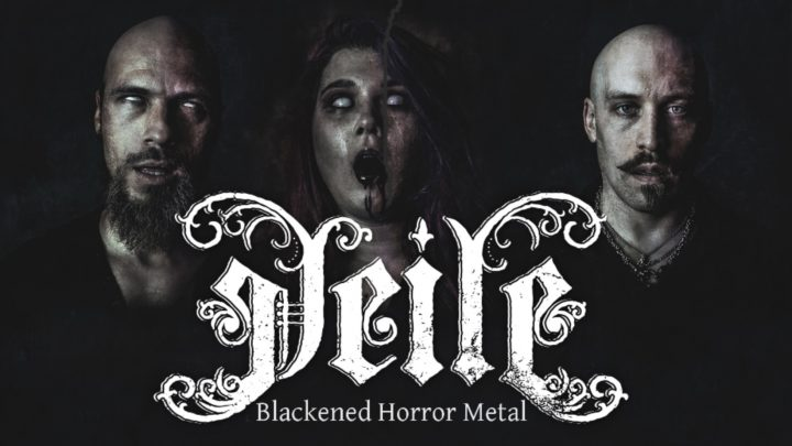 New Blackened Horror Metal VEILE to Release Debut Single