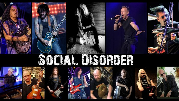 "SOCIAL DISORDER (feat. members of GUNS 'N' ROSES, OZZY OSBOURNE, WHITESNAKE & many more!) Releases Album Title Track ""Love 2 Be Hated"""