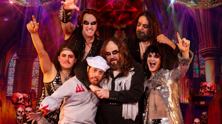 TRAGEDY: All Metal Tribute to Bee Gees & Beyond: signs to Napalm Records / joins Continental Concerts / live video