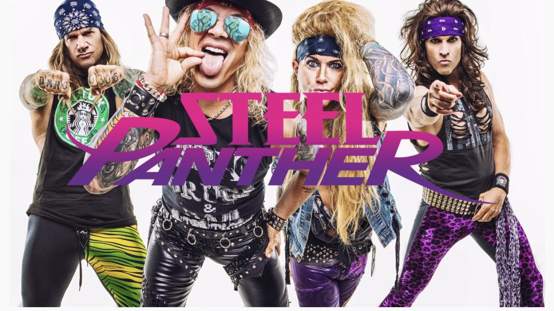 Steel Panther Releases Tribute to Van Halen