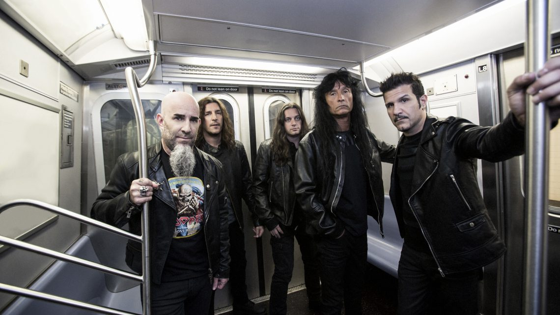ANTHRAX | announce 40th anniversary celebrations inc. career spanning live stream + video testimonial series feat. distinguished musicians