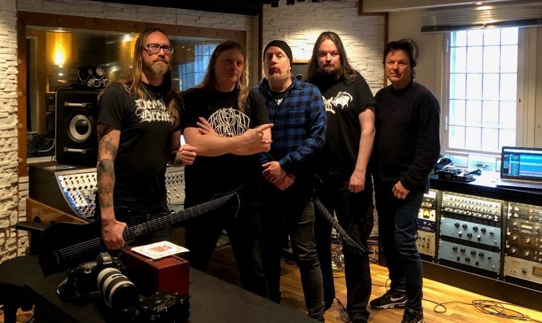 """AT THE GATES – Announce new album """"The Nightmare Of Being""""; Artwork, release date and first details revealed!"""