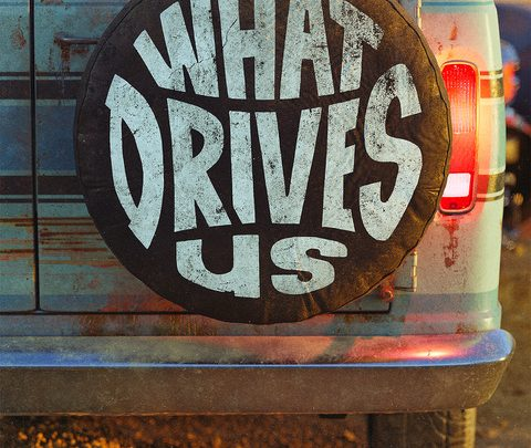 'WHAT DRIVES US'  COMING APRIL 30TH DIRECTED BY DAVE GROHL, PRODUCED BY FOO FIGHTERS