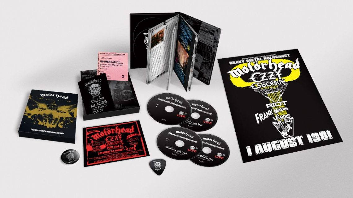 Motörhead reveal previously unreleased version of 'Stay Clean'