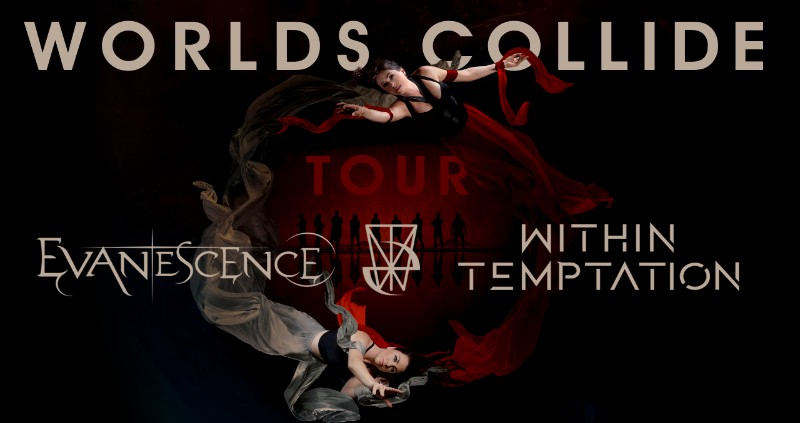 Evanescence and Within Temptation Push Back European Tour to 2022