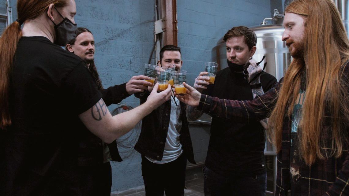 """BLEED FROM WITHIN LAUNCH """"FRACTURE"""" BEER TO CELEBRATE ONE YEAR ANNIVERSARY OF THEIR LATEST ALBUM"""