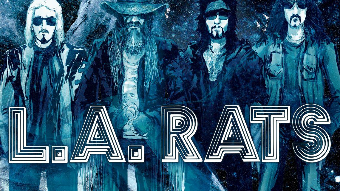LA RATS – Nikki Sixx, Rob Zombie, John 5 and Tommy Clufetos Team up for film soundtrack