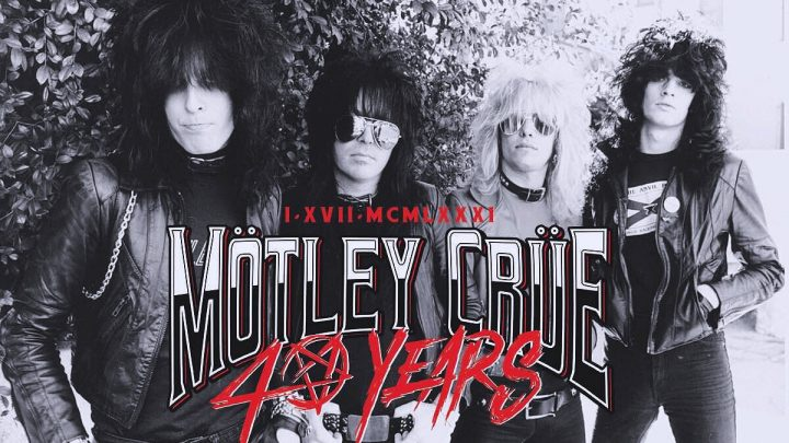 MÖTLEY CRÜE SET TO CELEBRATE 40TH ANNIVERSARY WITH SERIES OF SPECIAL CATALOGUE RETROSPECTIVE RELEASES